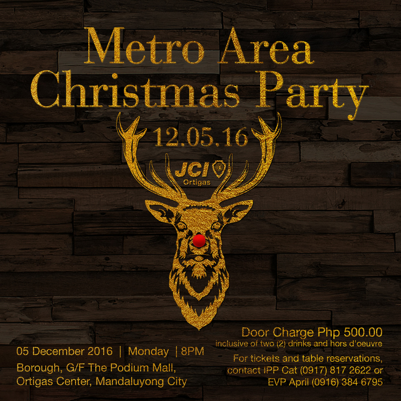 JCI Metro Area Christmas Party 2016 by JCI Ortigas