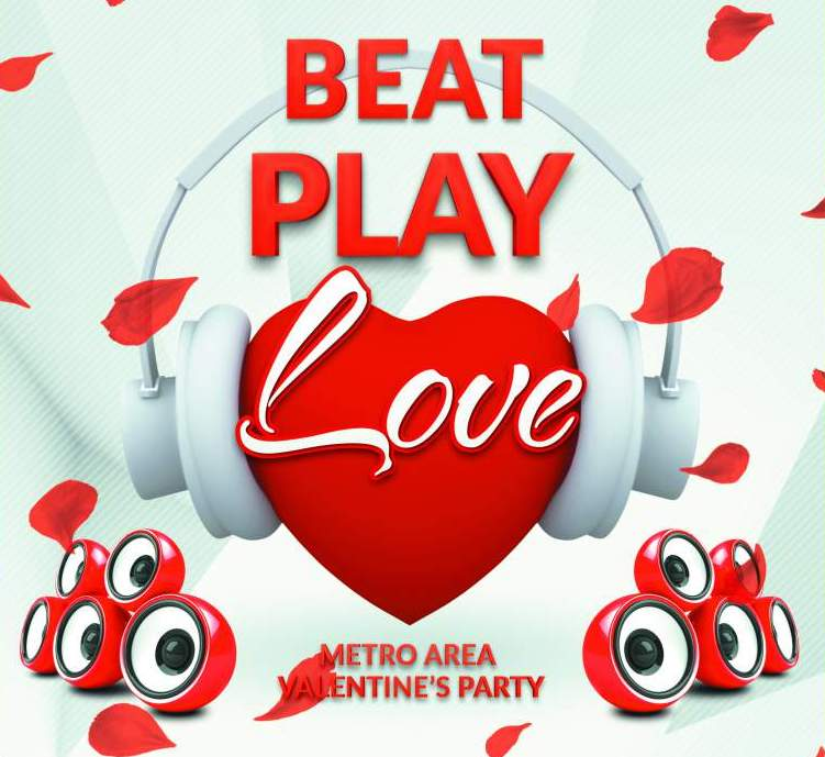 Beat Play Love - Metro Area Valentine's Party
