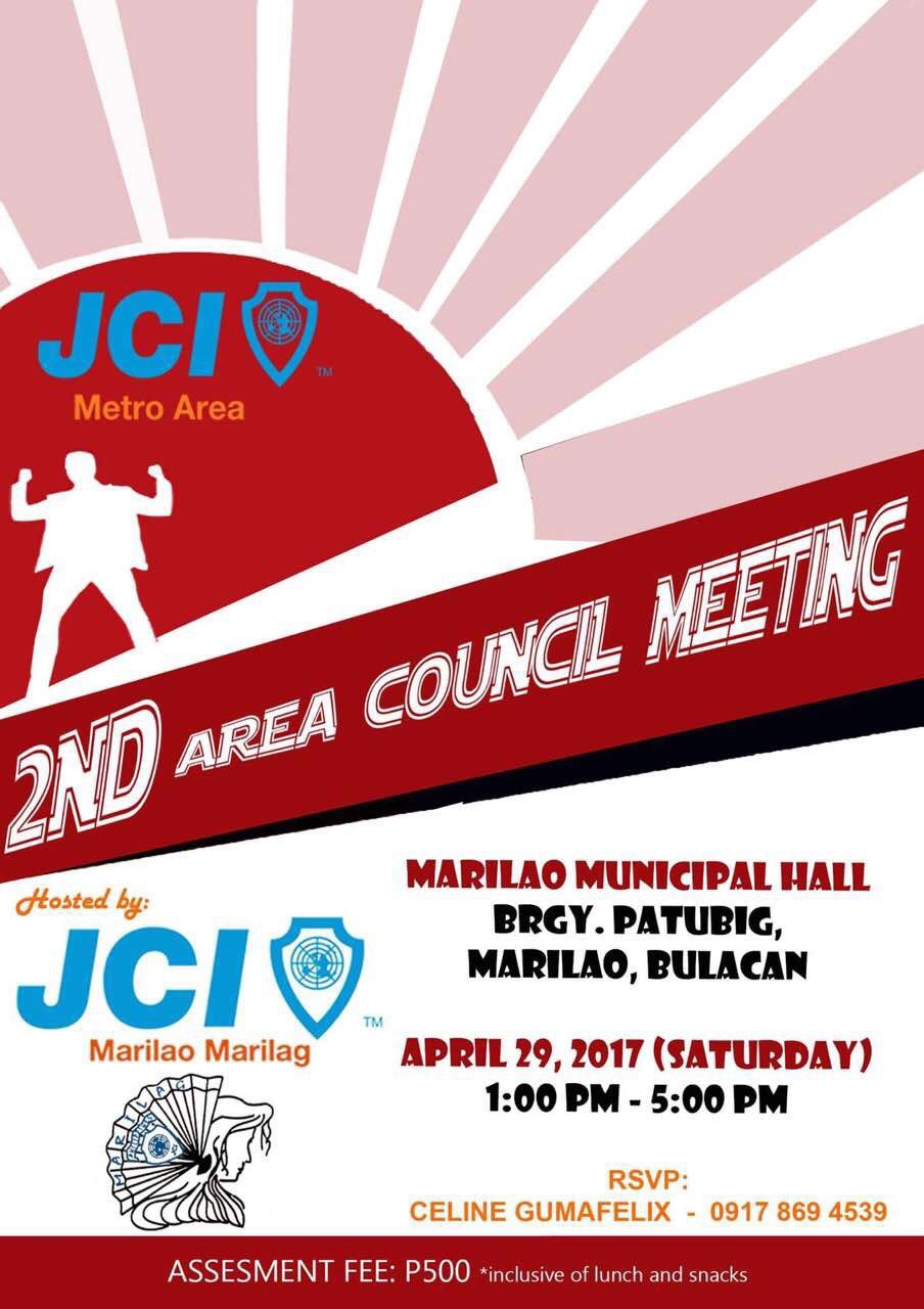 2nd Area Council Meeting 2017