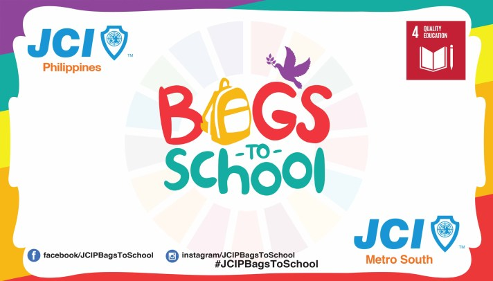 JCI Phils - Bags to School Banner