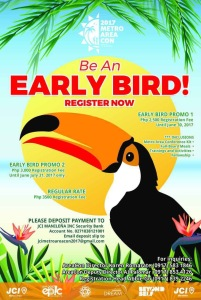 Area Con Early Bird Rates