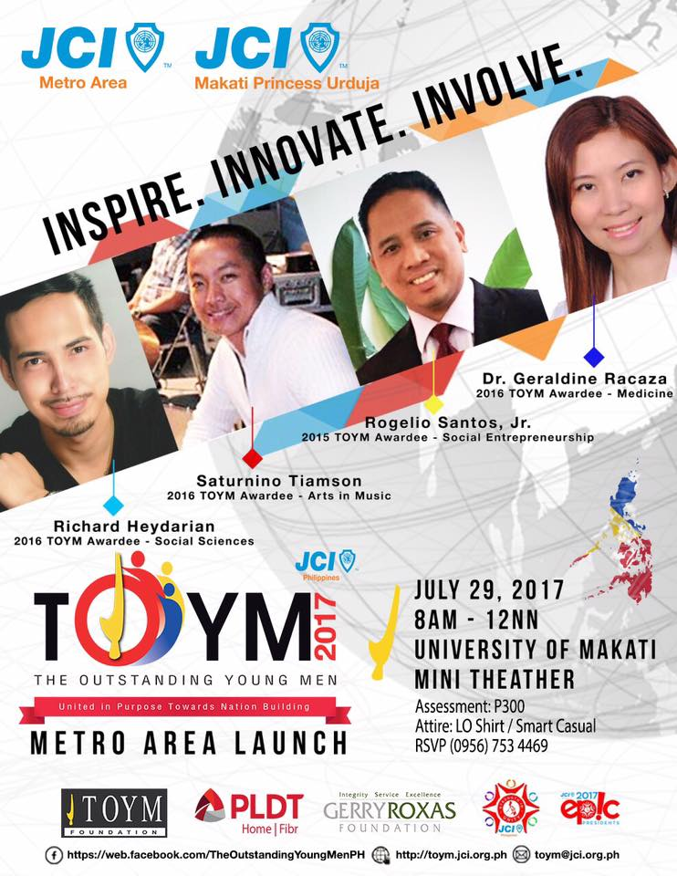 TOYM Metro Area Launch 2017