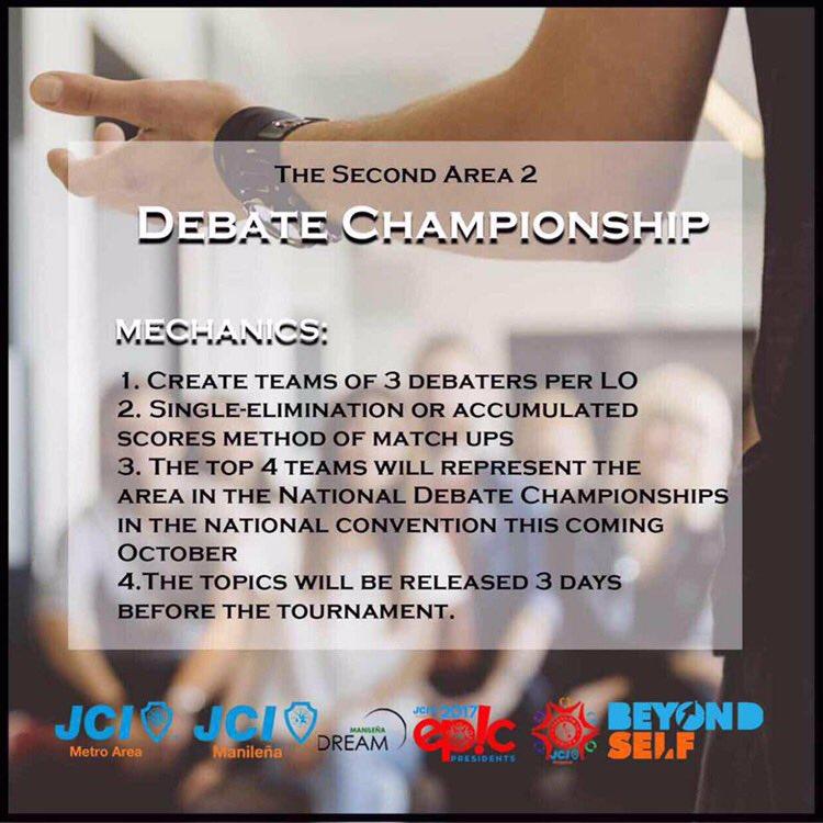 Debate Championship 2017 Mechanics