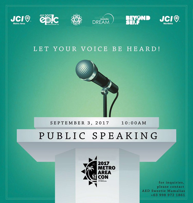 Public Speaking Competition 2017