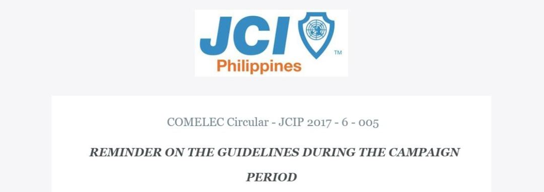 JCIP Circular- Campaign