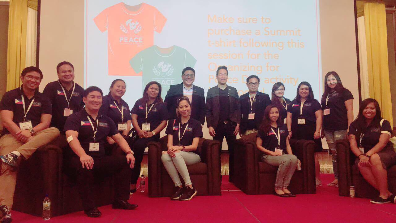 JCI Philippines Delegates led by 2015 EVP Brian Lim together with MSNBC News anchor Richard Lui
