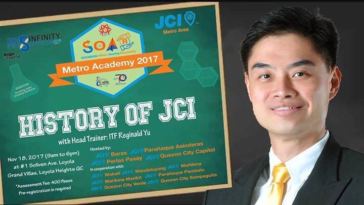 SOAR JCI History Reggie Yu