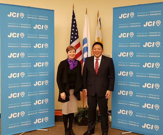 JCI Handover - 2018 Presidential Handover from Dawn Hetzel to Marc Brian Lim