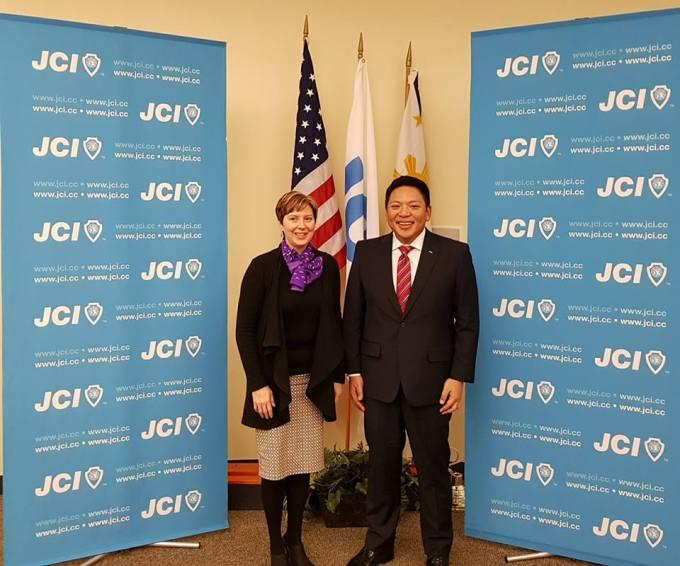JCI Handover - 2018 Presidential Handover from Dawn Hetzel to Marc Brian Lim