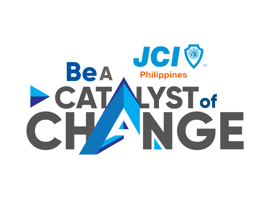 Be A Catalyst of Change png black blue