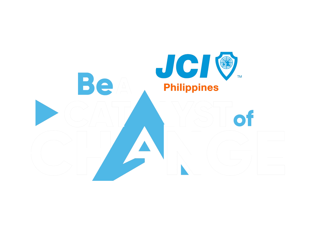 Be A Catalyst of Change png white blue